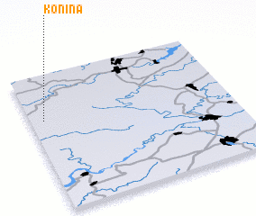 3d view of Konina