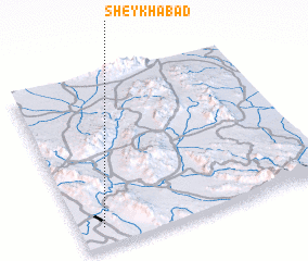 3d view of Sheykhābād