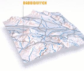 3d view of Bāb Bīdū'īyeh