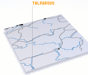 3d view of Talparovo