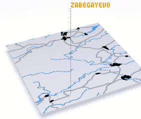 3d view of Zabegayevo