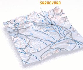 3d view of Sar Keyvān