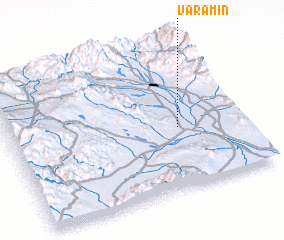 3d view of Varāmīn