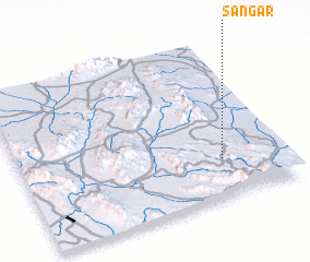 3d view of Sangar