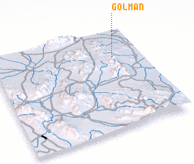 3d view of Gol Man