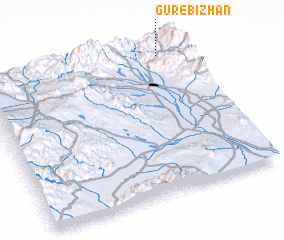 3d view of Gūr-e Bīzhan