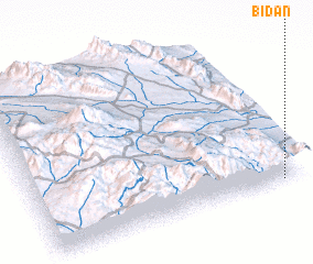 3d view of Bīdān
