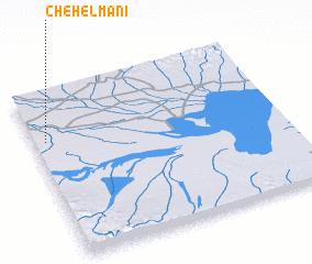 3d view of Chehel Manī