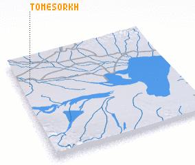 3d view of Tom-e Sorkh