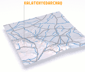 3d view of Kalāteh-ye Dar Chāq
