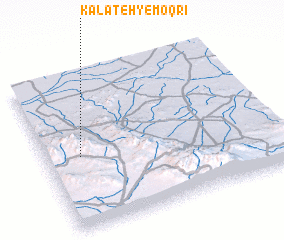 3d view of Kalāteh-ye Moqrī