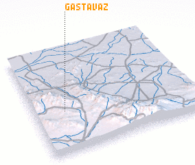 3d view of Gastavāz