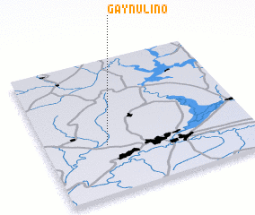 3d view of Gaynulino