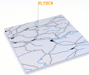 3d view of Klyuch