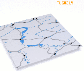 3d view of Tuguzly