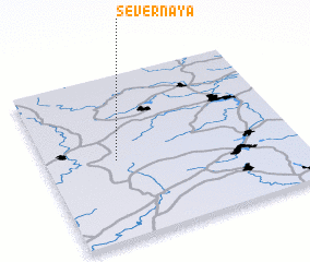 3d view of (( Severnaya ))
