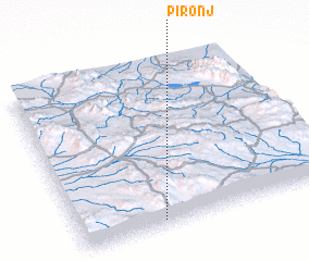 3d view of Pīronj