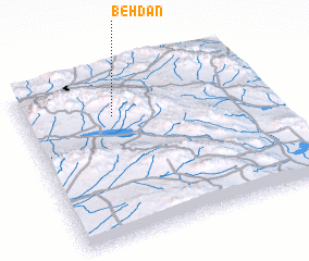 3d view of Behdān
