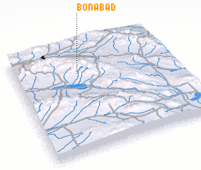 3d view of Bonābād