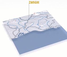 3d view of Zangīk