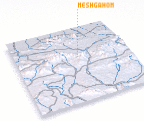 3d view of Meshgāhom