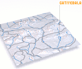 3d view of Gatī-ye Bālā