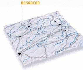 3d view of Besançon