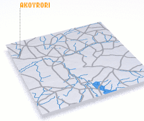 3d view of Akoyrori