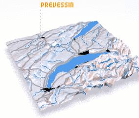 3d view of Prévessin