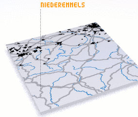3d view of Nieder-Emmels