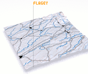 3d view of Flagey