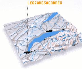 3d view of Le Grand-Saconnex