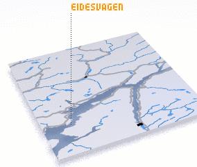 3d view of Eidesvågen