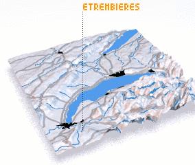 3d view of Étrembières