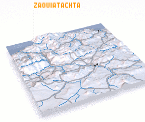 3d view of Zaouia Tachta