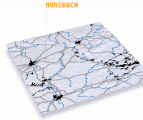 3d view of Münsbach