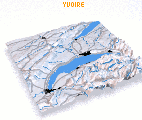 Map Of Yvoire France.Yvoire France Map Nona Net