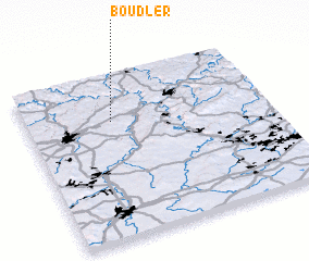 3d view of Boudler