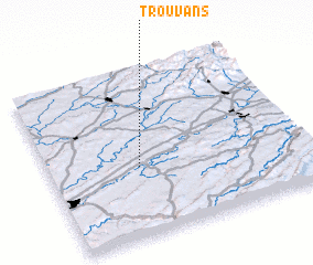 3d view of Trouvans