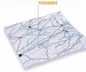 3d view of Trouvans