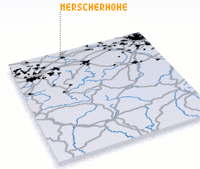 3d view of Merscherhöhe