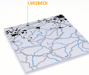 3d view of Lorsbeck