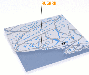 3d view of Ålgård