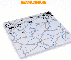 3d view of Hasselsweiler