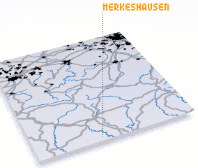 3d view of Merkeshausen