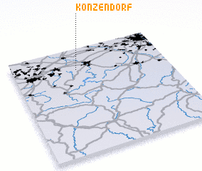 3d view of Konzendorf