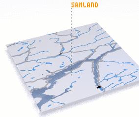 3d view of Samland