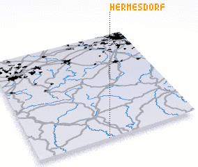 3d view of Hermesdorf