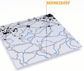 3d view of Hermesdorf