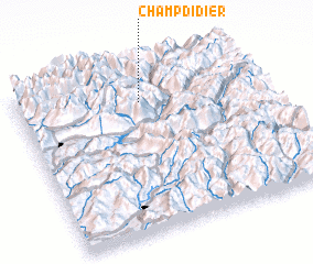 3d view of Champ-Didier